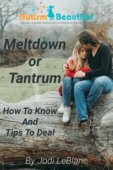 Meltdown or Tantrum?